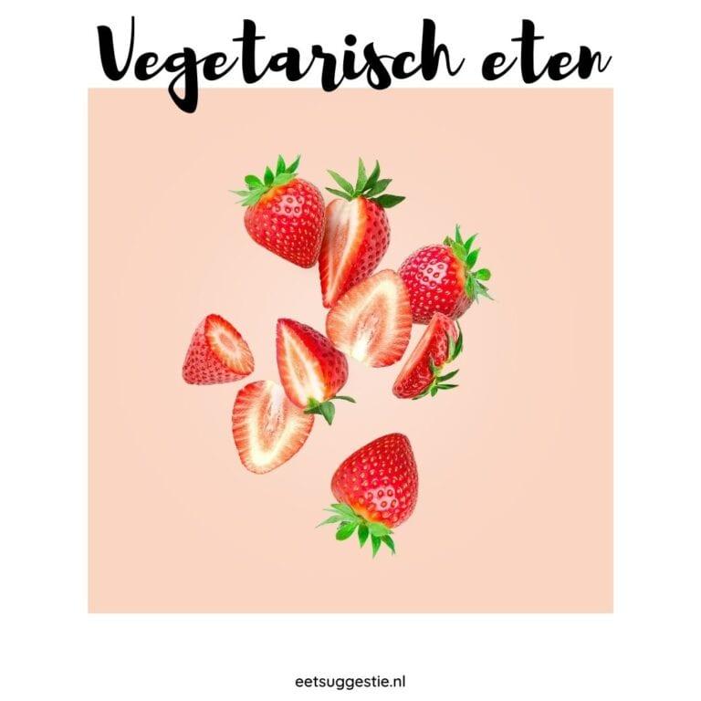 Vegetarisch eten: ooit puur lichamelijk begonnen