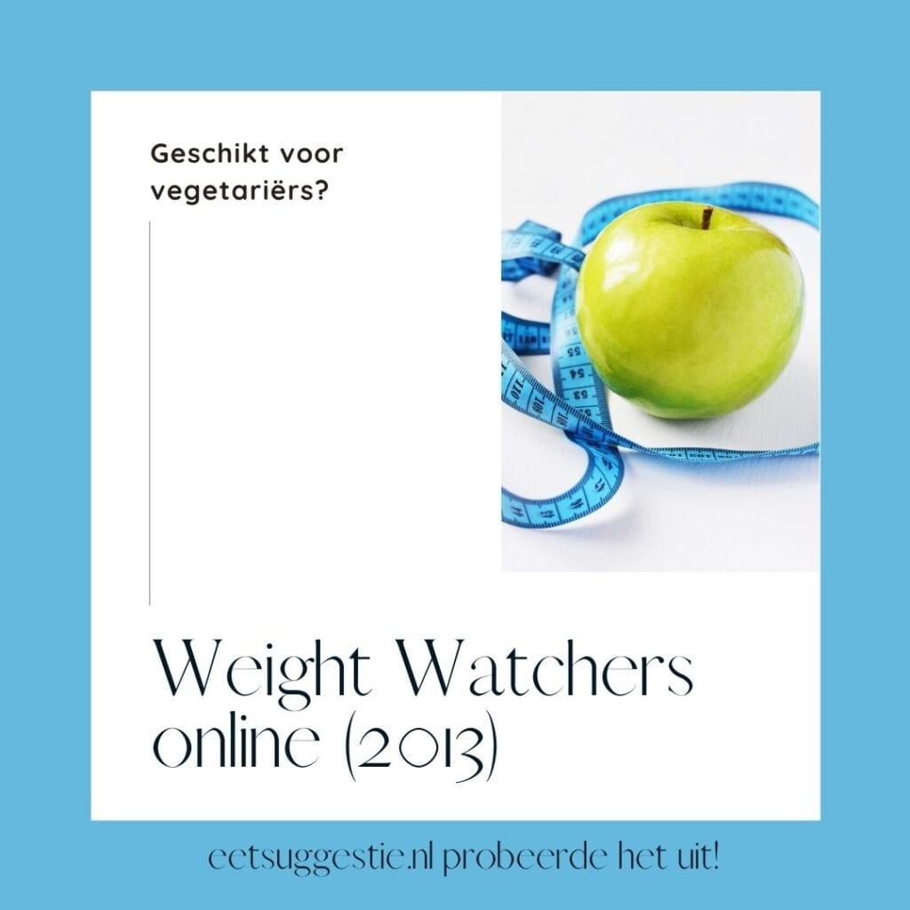 Is Weight Watchers online geschikt voor vegetariers?