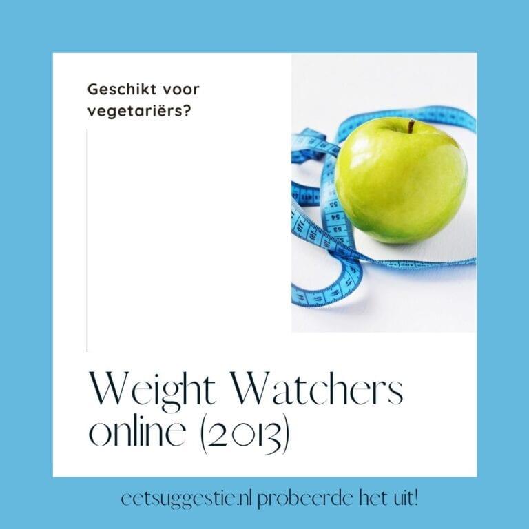 Vegetarisch afvallen met Weight Watchers