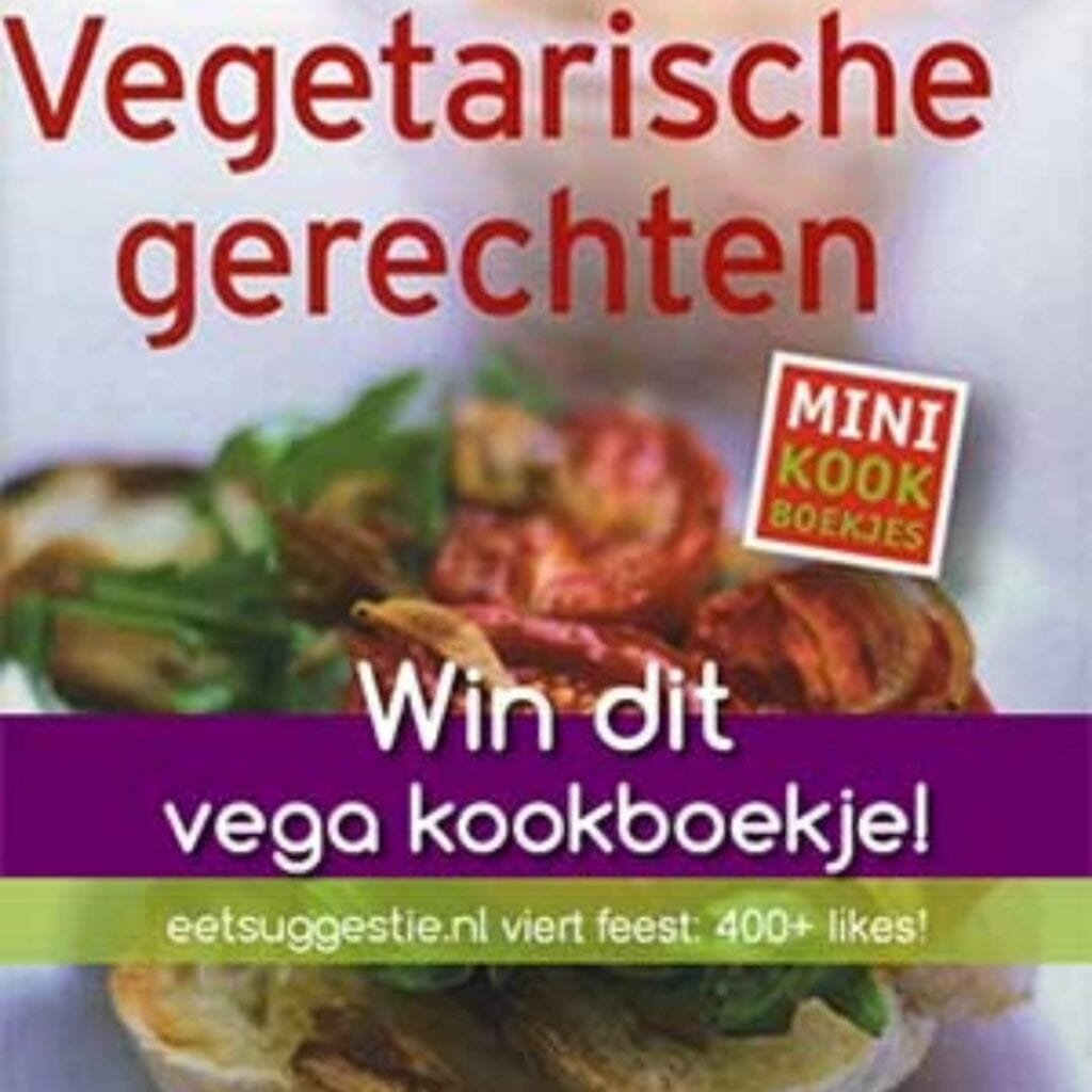 Mini boek Vegetarische gerechten