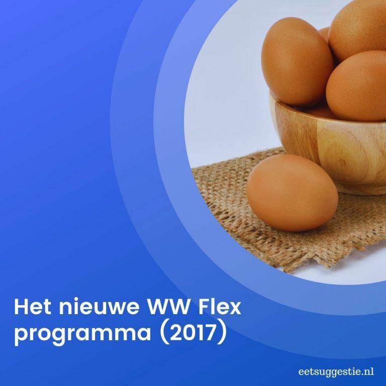 Weight Watchers : nieuw WW Flex programma in 2017