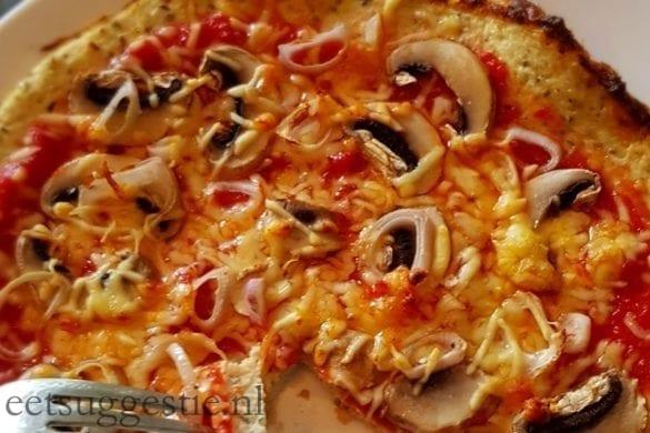 zeebeest kip-bloemkool pizzabodem wwproof