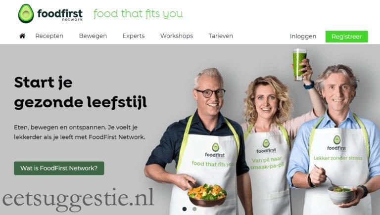 FoodFirst Network het platform voor gezond leven