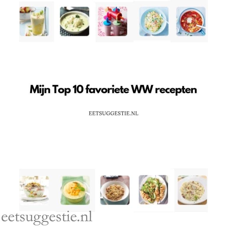 Mijn Top 10 favoriete Weight Watchers recepten