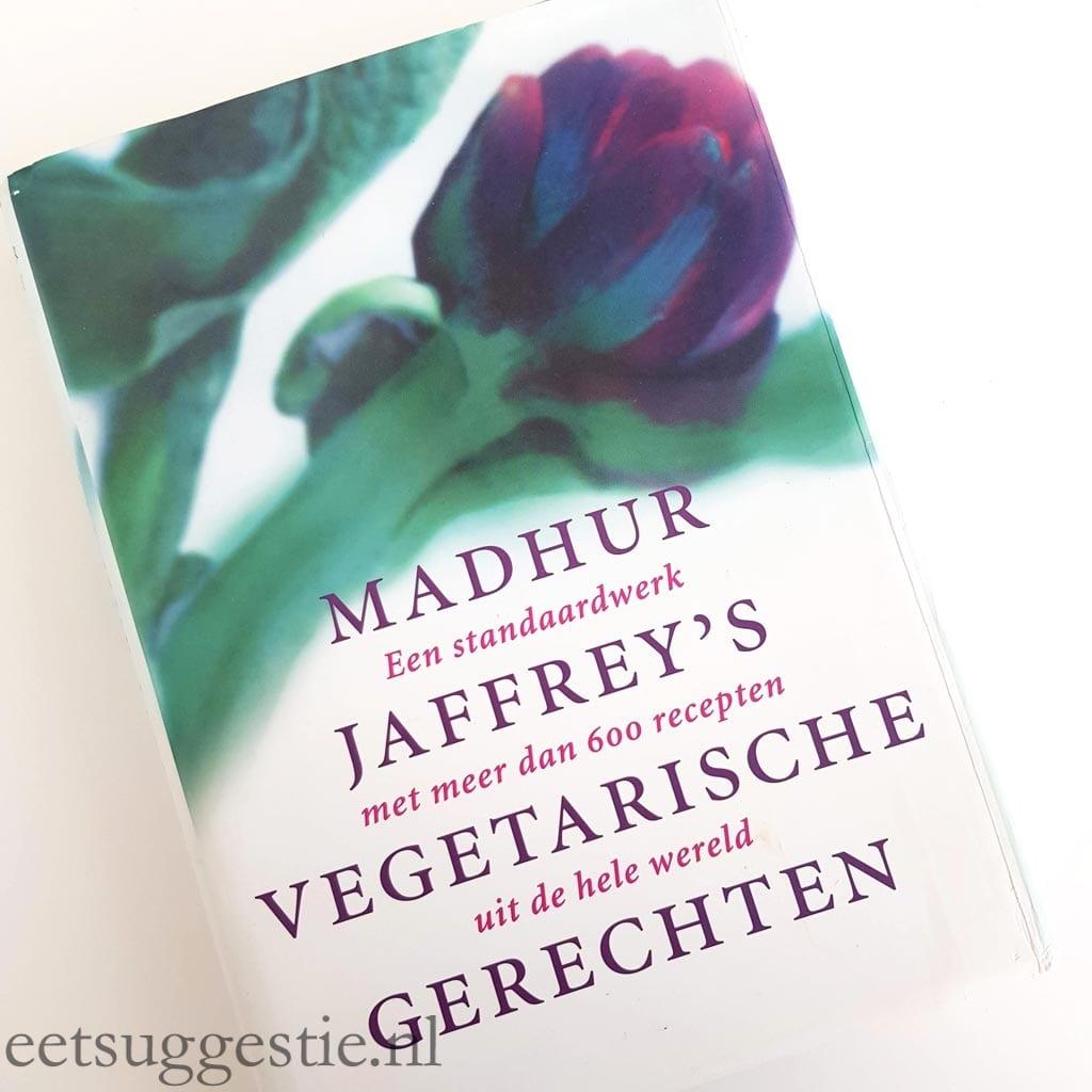 Kookboek Madhur Jaffrey's vegetarische gerechten