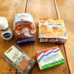 Kaneelrolletjes ingredienten eetsuggestie