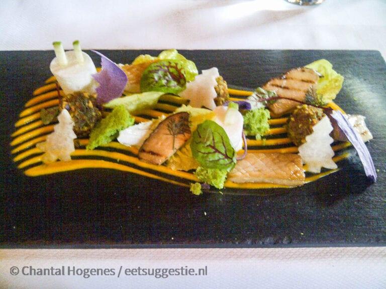 Vegetarische kerstlunch 2012 bij Restaurant Lute